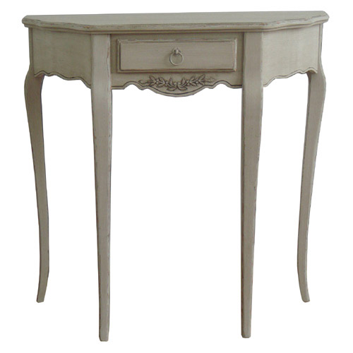 FRENCH STYLE CONSOLE TABLE (CREAM)