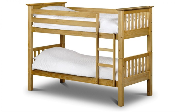 Barcelona Bunk Bed Antique Pine Single
