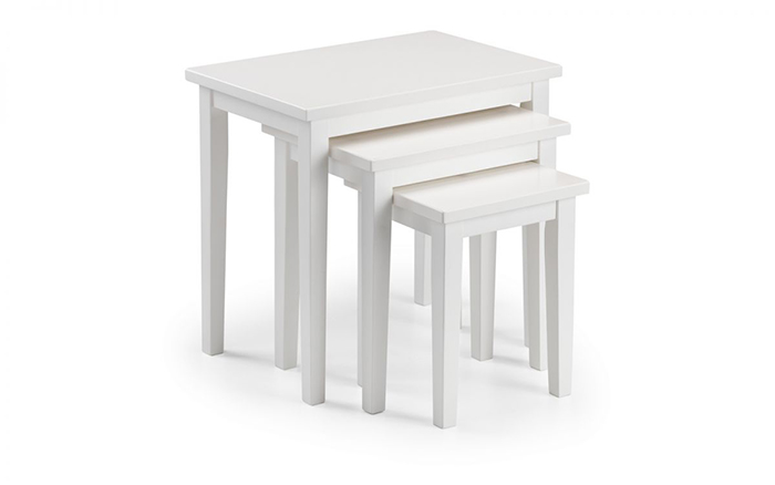Cleo Nest of Tables - White