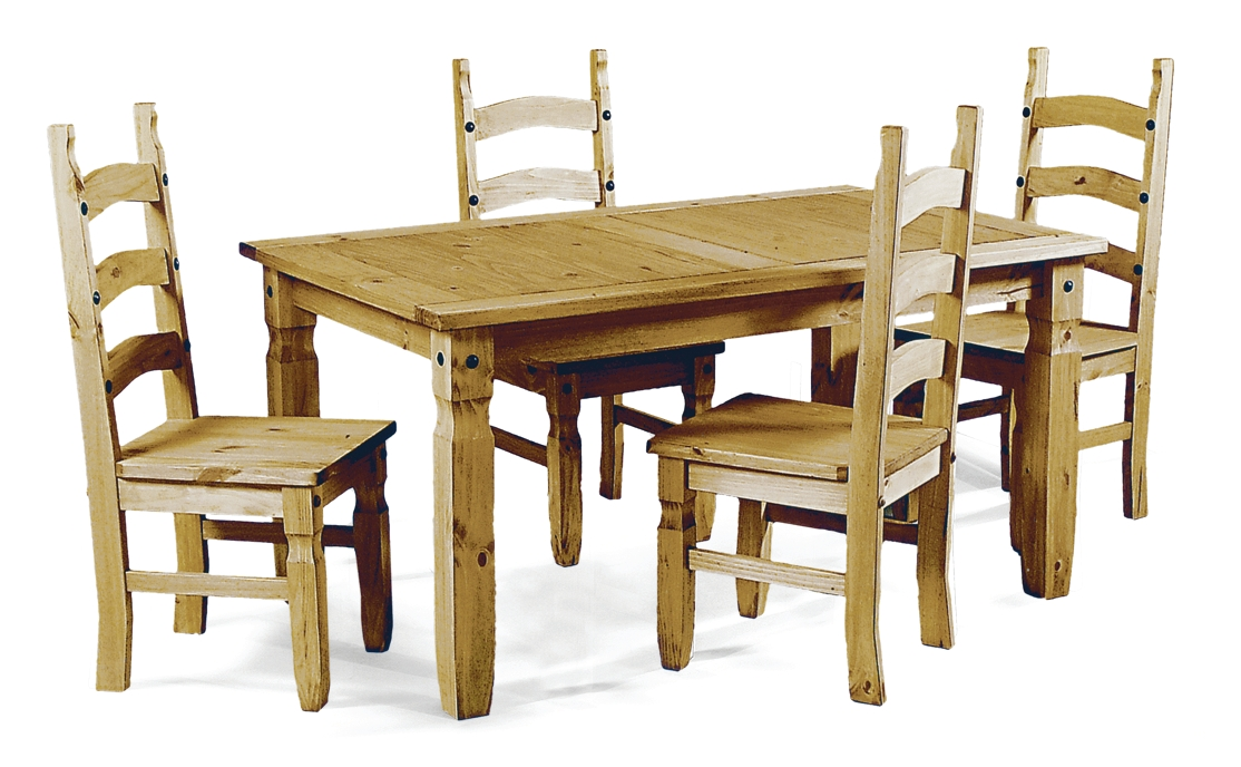 Corona Table & 4 Chairs