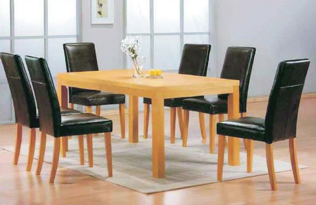 Vogue Large Table & 6 Chairs