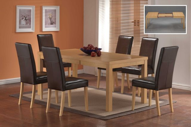 Vogue extending Table & 6 Chairs