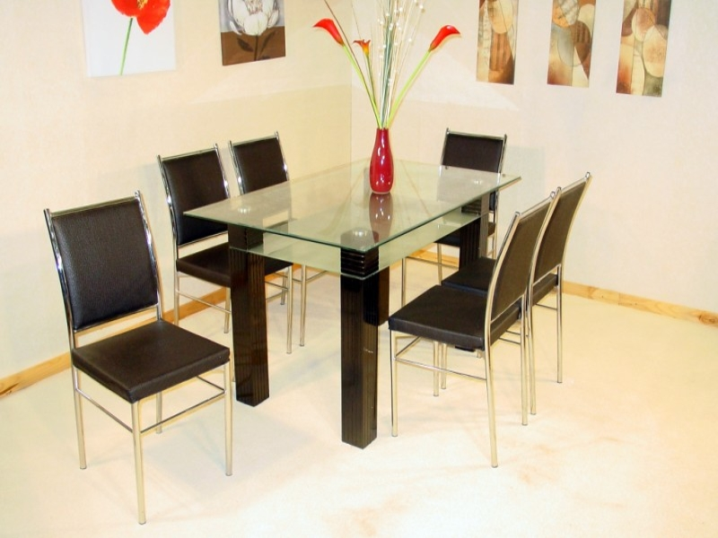 Merlin Table & 6 Chairs