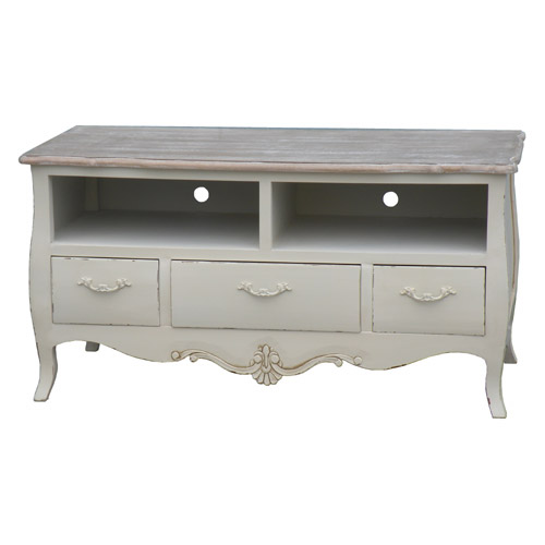 CREAM LORIE TV STAND