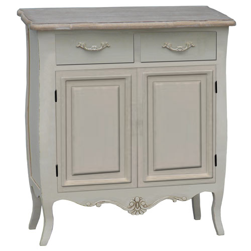CREAM LOIRE 2 DOOR 2 DRAWER SIDEBOARD