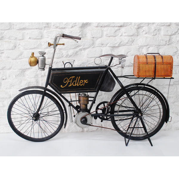 "1903 Alder Motorcycle ""Repro Tin Plate"""