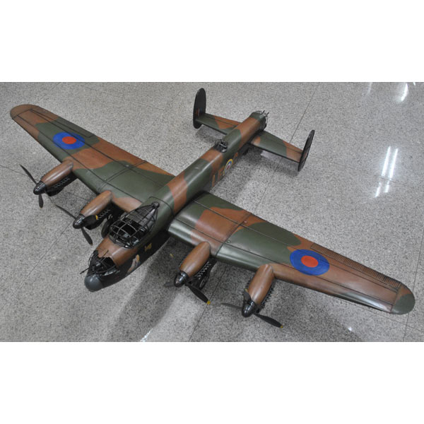 Large Repro Tin Just Jane Bomber Plane
