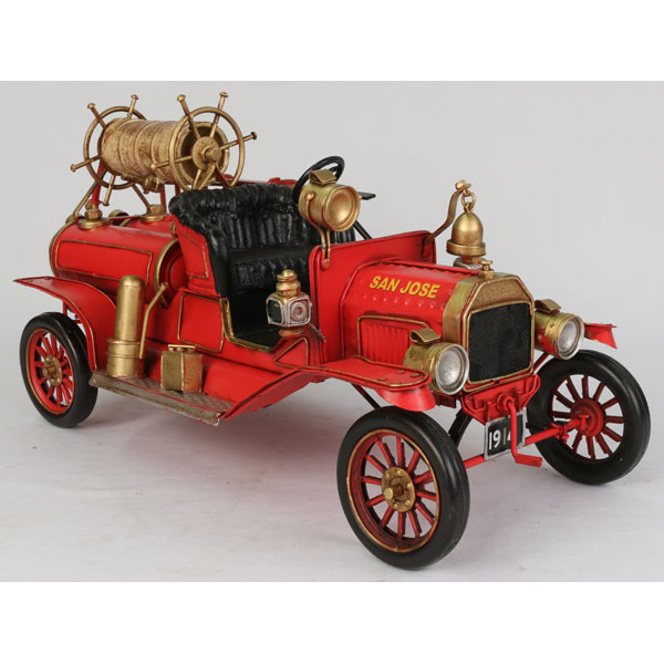 1914 Ford T Fire Engine Repro Tin Plate