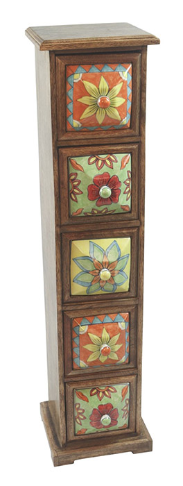 5 Drawer Almirah Cabinet