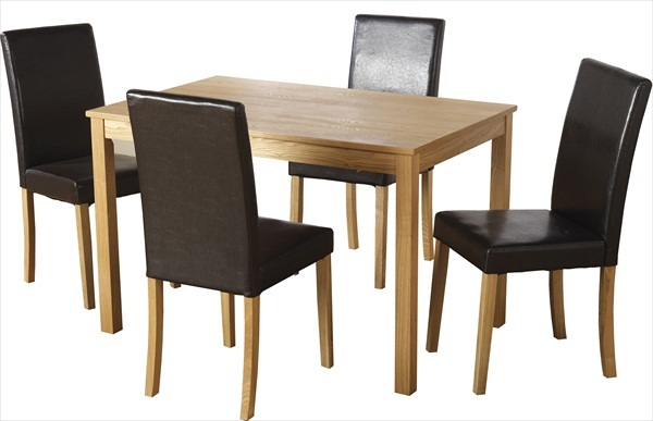 ASHMERE TABLE & 4 CHAIRS