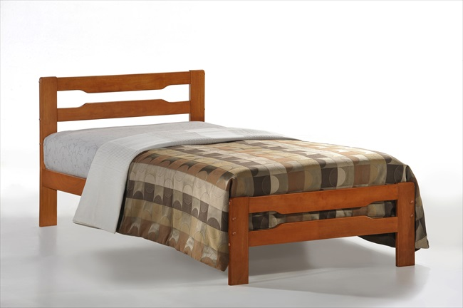Amelia Single cherry finsh Bedstead