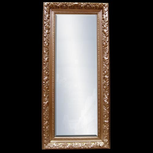 Antique Gold Frame With Bevel Mirror