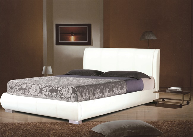 "Asta White, Brown or Black 4'6"" Bedsteads From"