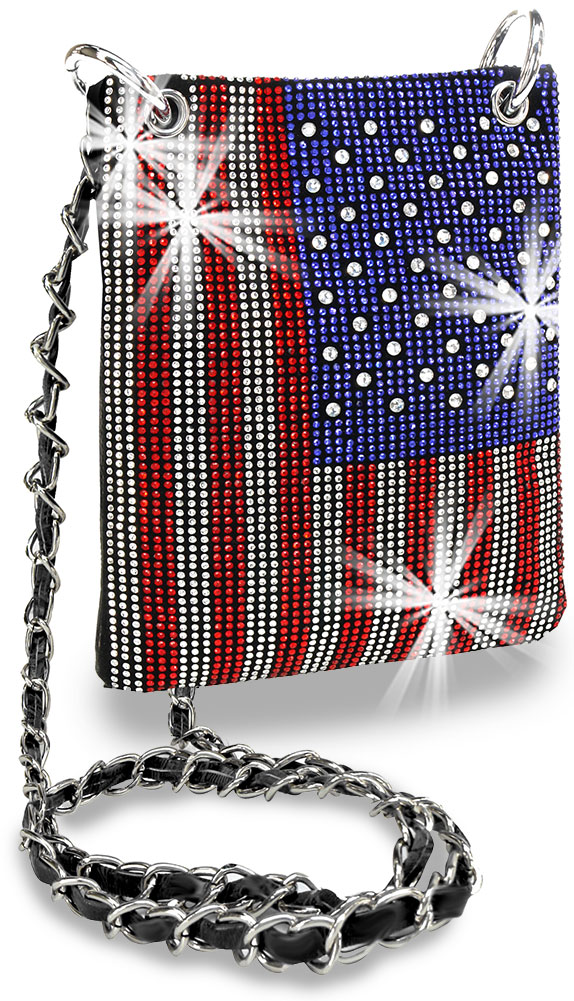 Petite American Flag Sling - Click Image to Close