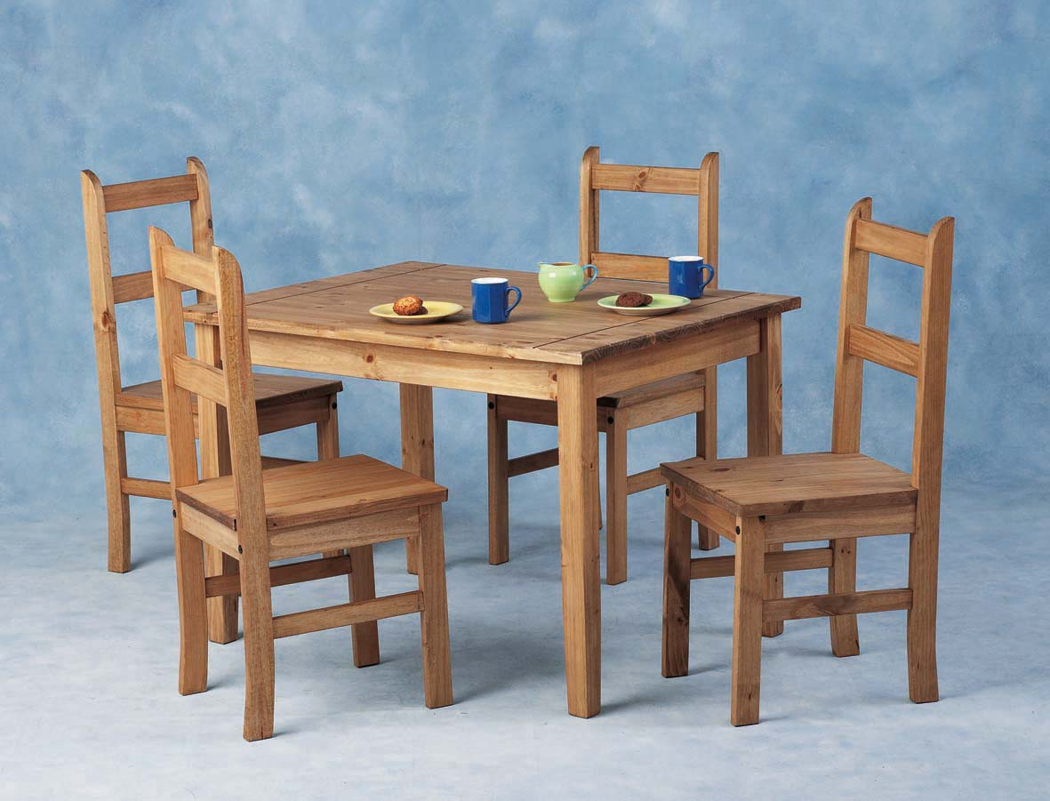 Mexican Table & 4 Chairs - £125.00 : TBS Discount Furniture, A large ...