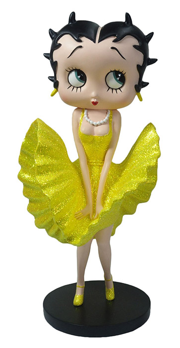 Betty Boop Cool Breeze Yellow Gleeze