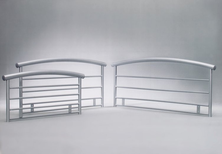 BRENNINGTON RANGE (SILVER) OF HEADBOARDS FROM