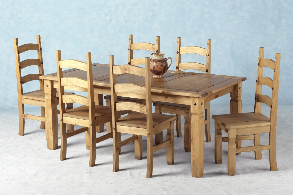 Corona Table & 6 Chairs (hf)