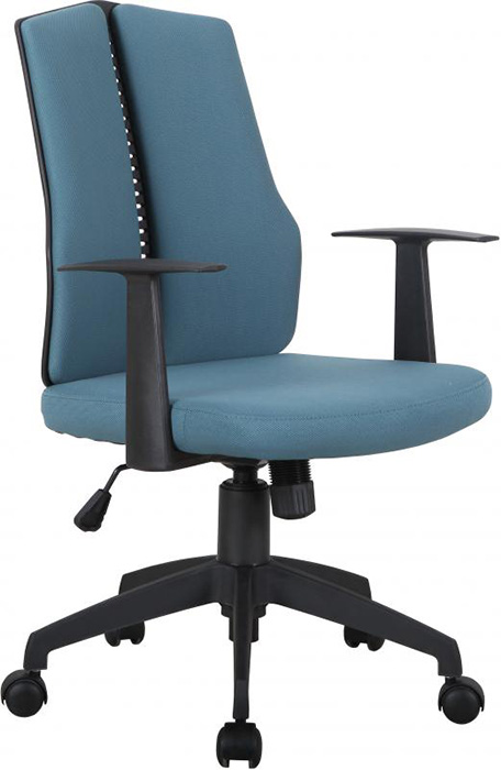 CX1126M Computer Chair in Blue Fabric