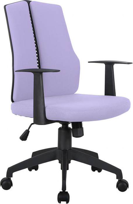CX1126M Computer Chair in Purple Fabric