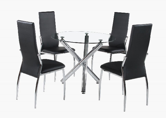 Calder clear Dining Set