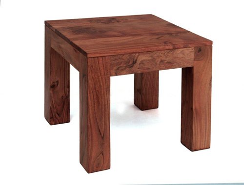 Acacia Wood (Dark Oak Stain) Lamp Table