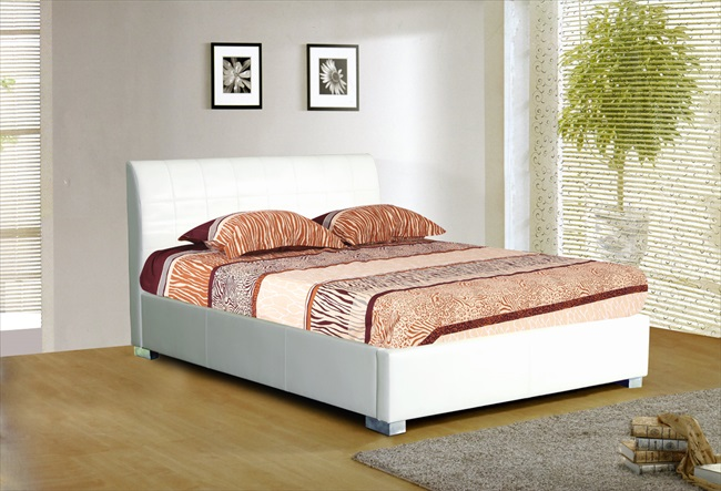 Chinelle Black / Brown or Wite pu Bedsteads From - Click Image to Close