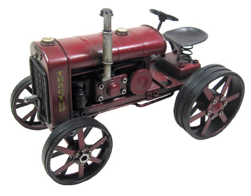 Repro Dark Red Tractor