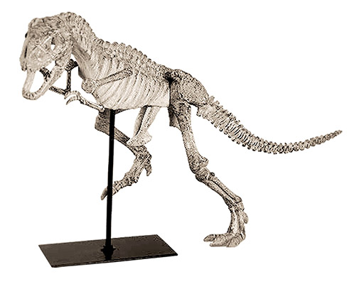 Resin Dinosaur On Stand Small