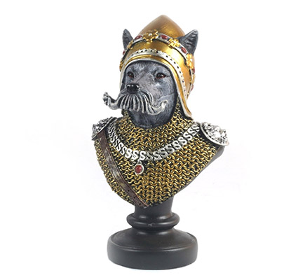 Resin Dog Soldier Bust