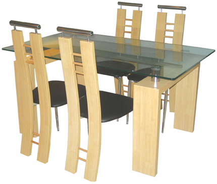 Dynasty Table & 4 Chairs