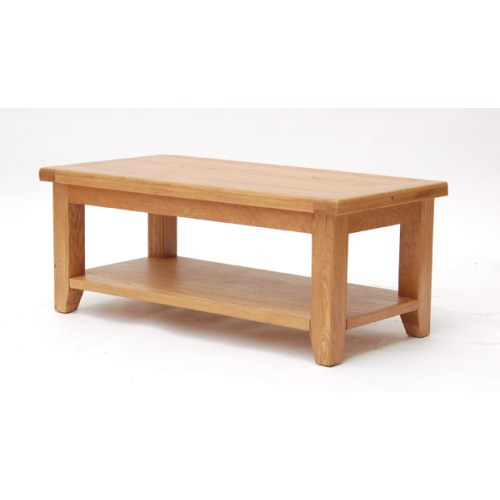 Hamshire Solid Oak Coffee Table