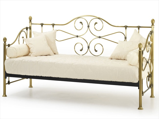 Florence Antique Brass 3' Day Bed