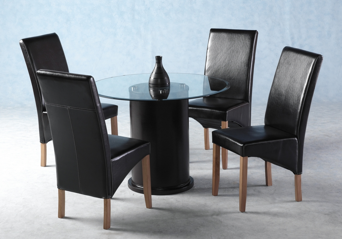 Galaxy Round Table & 4 Chairs