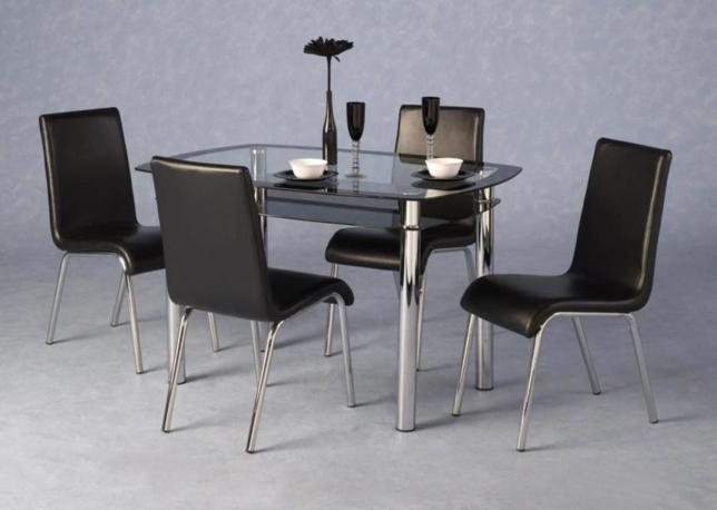 Harlequin Table & 4 Chairs