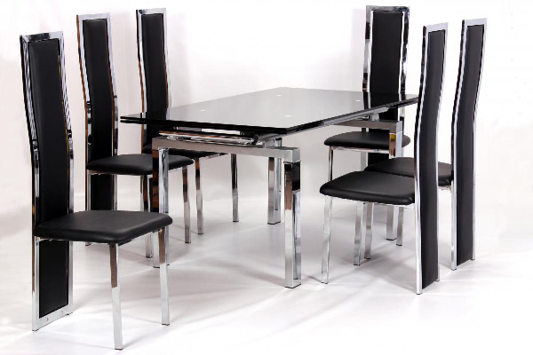Highgrove Extending Table & 6 Trinity chairs
