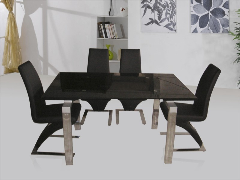 Highgrove Extending Table & 4 Ankara or 6 Trinity Chairs