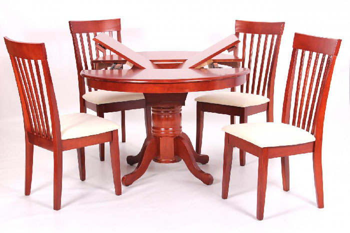 Leicester Extending Dining Set Mahogany