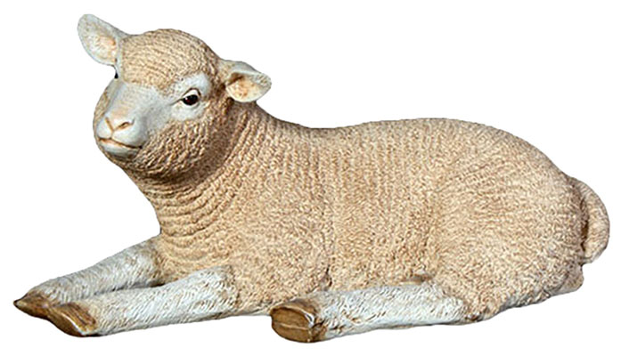 Resin Merino Lamb Resting
