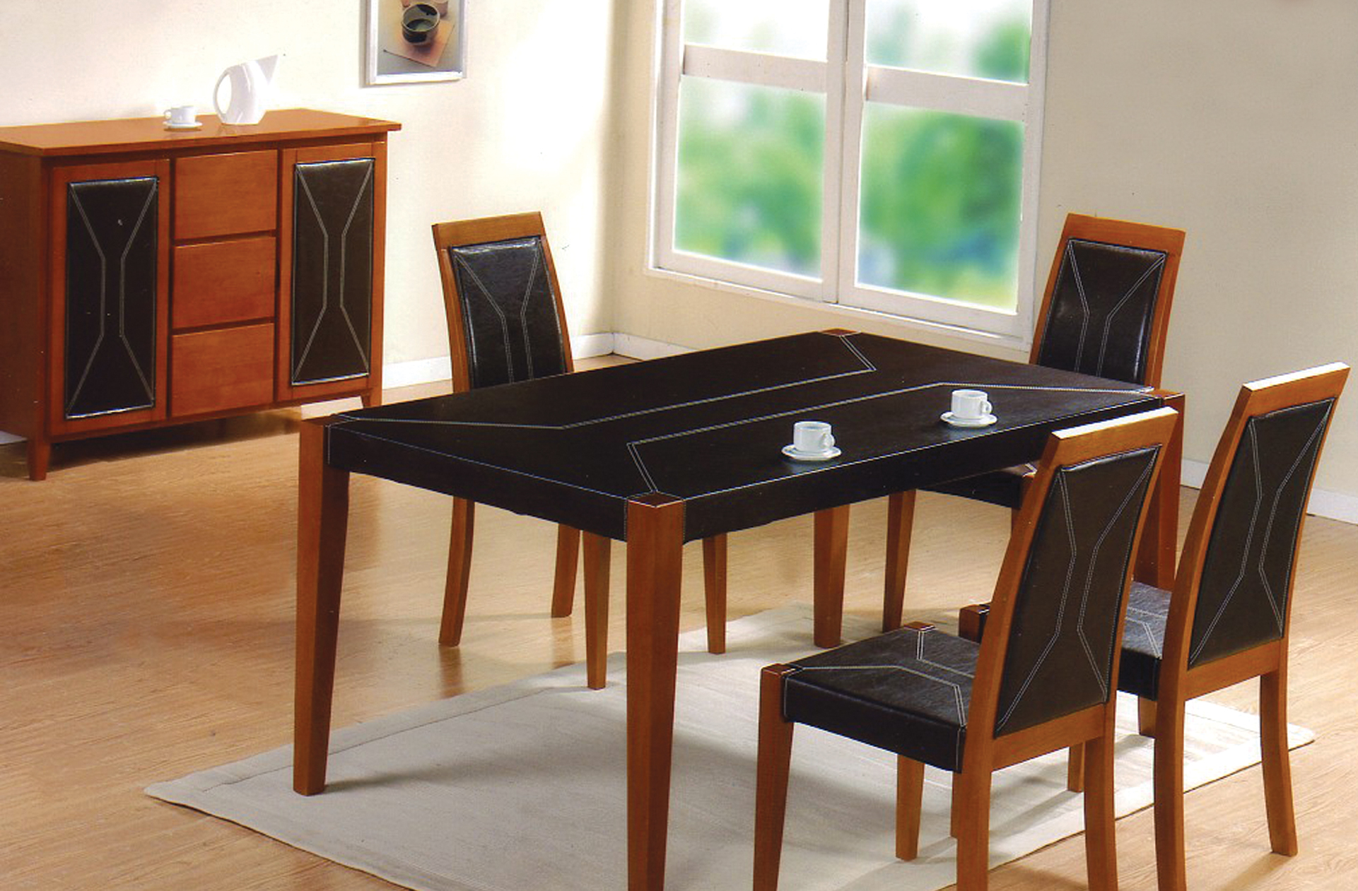 Lecco Table & 4 Chairs