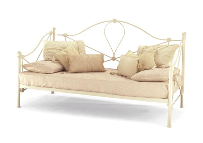 "Lyon 2'6"" or 3' Ivory or black Day Beds from"
