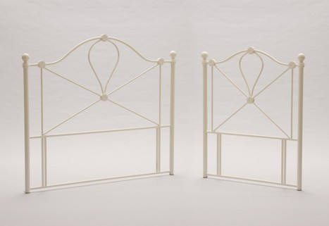 LYON RANGE (IVORY) OF FLOOR STANDING HEADBOARDS FROM