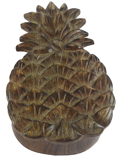 Mango Wood Pineapple Box