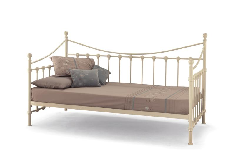 Marseilles 3' Glossy Ivory or Black Day Beds