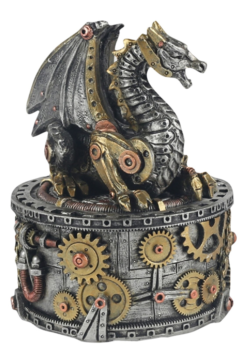 Steam Punk Design Dragon Box