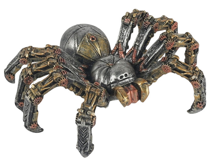 Steam Punk Design Spider Statue