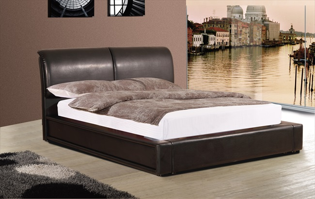 Murberry Black or Brown pu Bedsteads From
