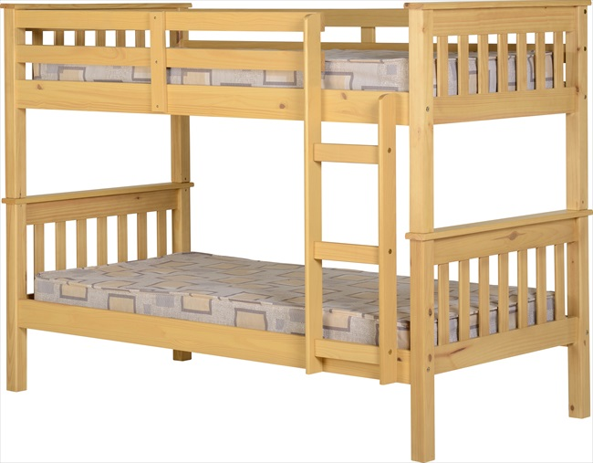 Neptune Oak or White Bunk Beds From