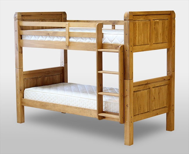 Corona Distressed Pine Bunk Bed