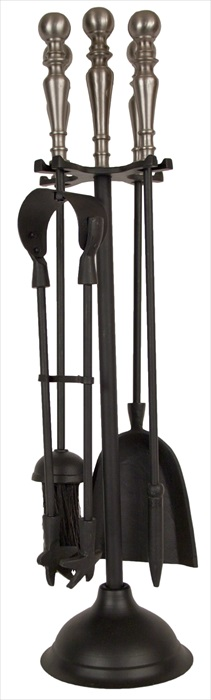New Duchess Companion Set Black & Pewter Finish